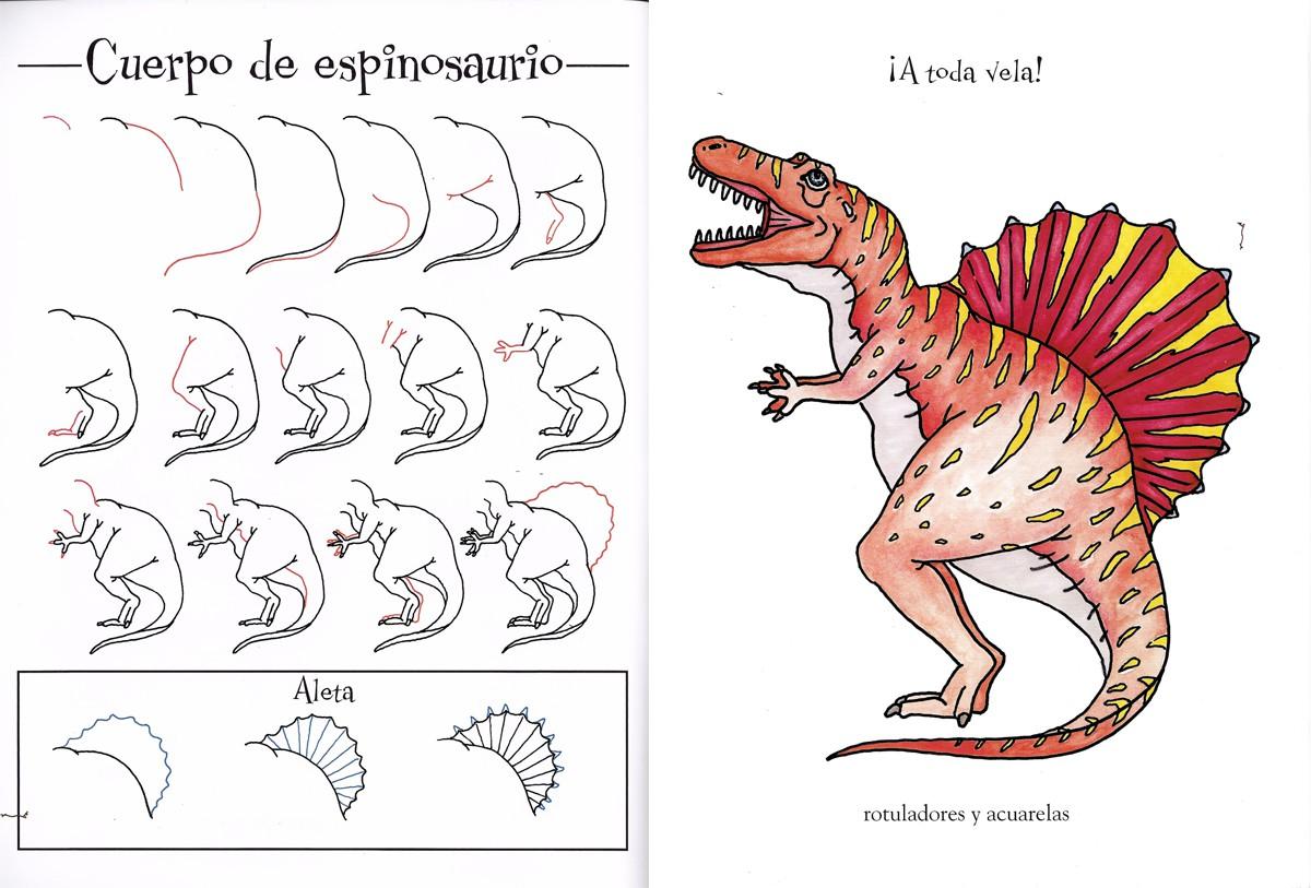 Interior - Dinosaurios para dibujar