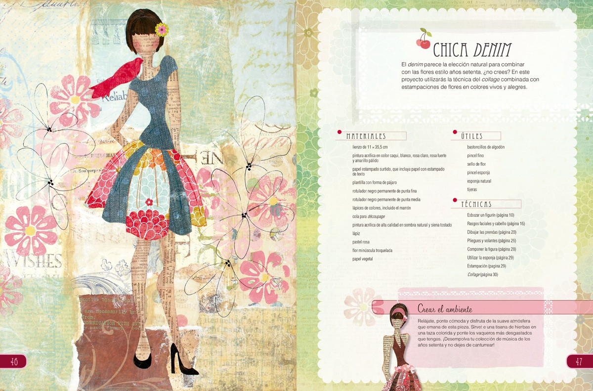 Interior - Collage de Moda