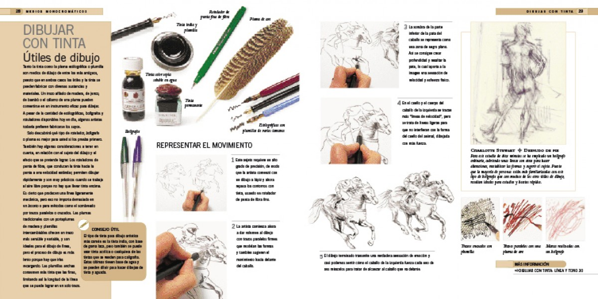 Interior - Enciclopedia de técnicas de dibujo